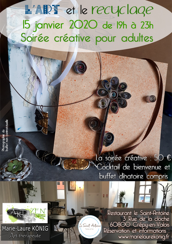 Affiche soiree creative recyclage v2