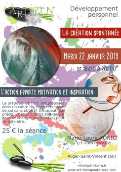 Art zen dessin developpement personnel therapie de groupe art therapie oise