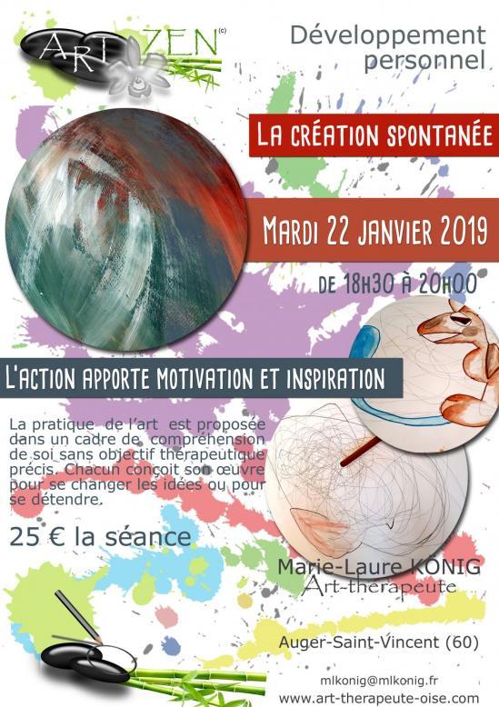 Art zen dessin developpement personnel therapie de groupe art therapie oise