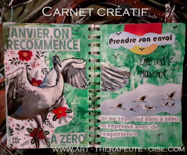 Creative journal le flow bien etre detente carnet creatif creativite