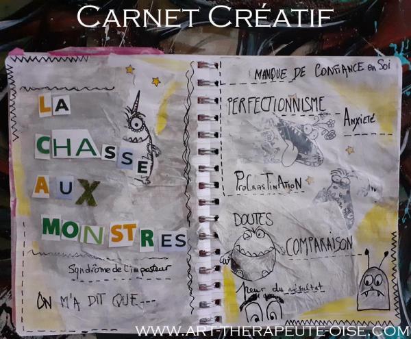 Creative journal le flow bien etre detente carnet creatif