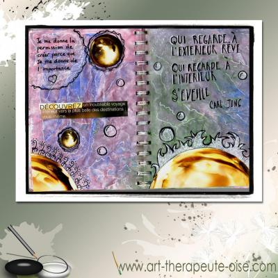 Decouvre ta creativite journal creatif art therapie