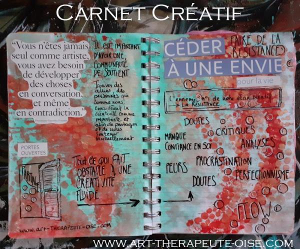Etat de flow carnet creatif journaling journal creative 2