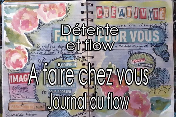 Exercices art therapie a faire chez soi journal du flow artjournal art journal art journaling journal creatif creative carnet bujo bullet