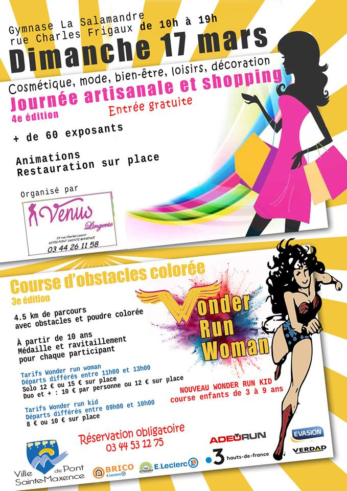 Journee artisanale et shopping 17 mars 2019