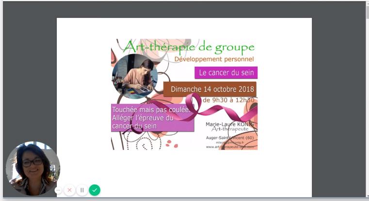 Le cancer du sein artherapie de groupe art therapie oise senlis compiegne le plessis belleville crepy en valois 60800 60300 60330 60440