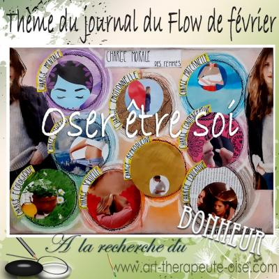 Oser etre soi art therapeute journal creatif