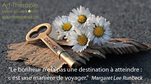 Le bonheur n'est pas une destination à atteindre