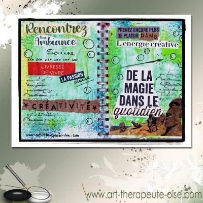 Rencontrez la creativite journal creatif art therapie