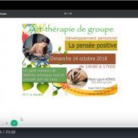 Vignette video la pensee positive art therapie de groupe 60800 60300 60330 60440 crepy en valois le plessis belleville senlis nanteuil le haudouin art therapeute