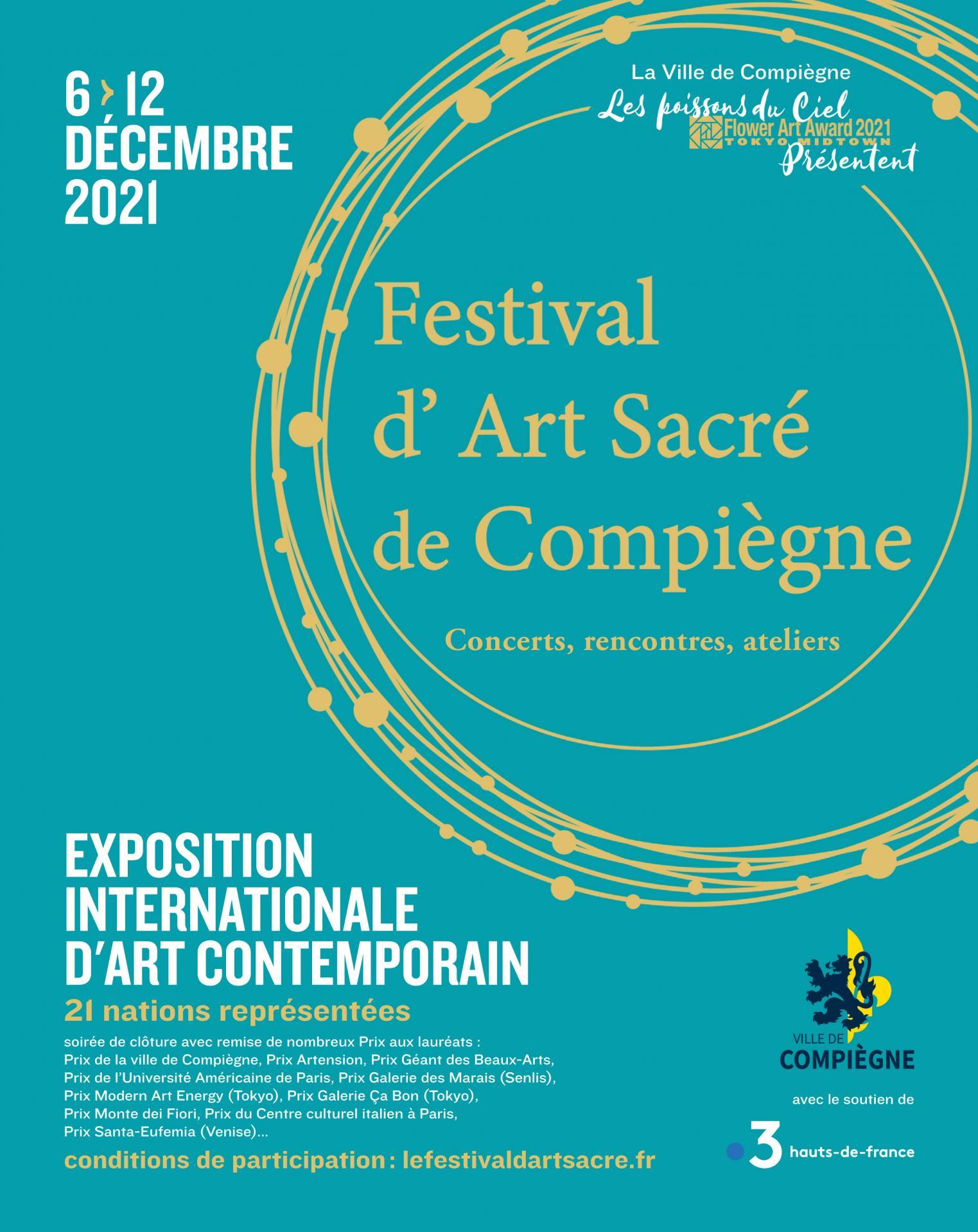 Affiche 2021 festival art sacre compiegne 1