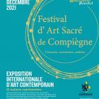 Affiche 2021 festival art sacre compiegne