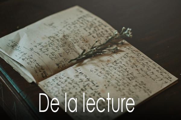 De la lecture