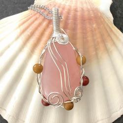 Amour de soi bijou pierre quartz rose
