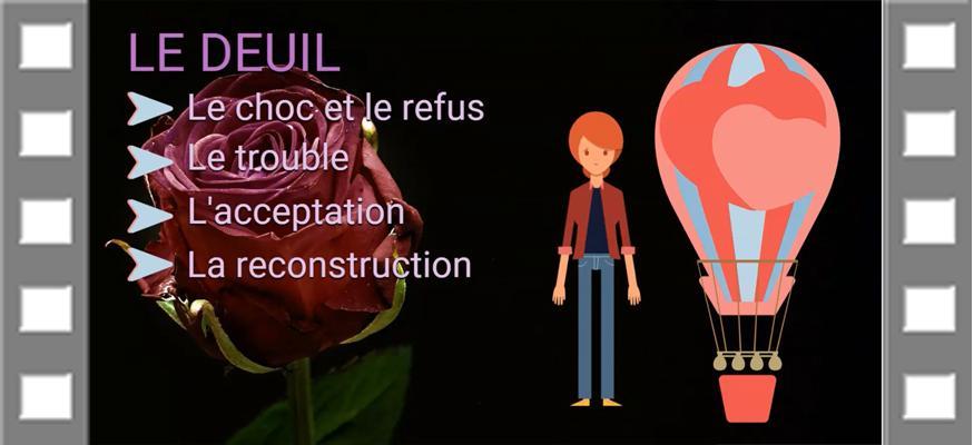 Animation detachement deuil couple art therapie psychologie