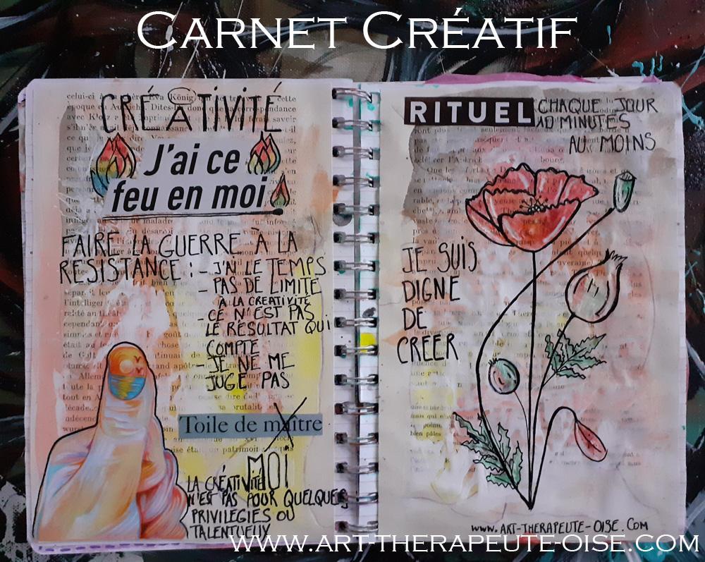 Annee du flow le carnet creatif bien etre