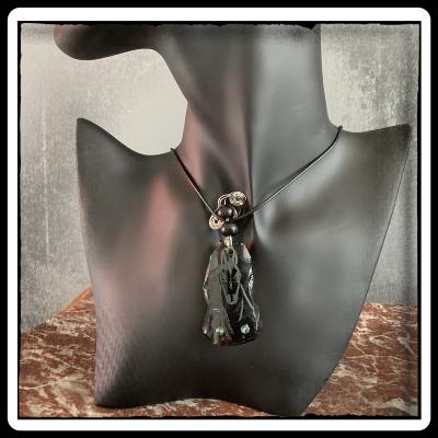 Bijou pendentif verre ecoresponsable unique 4