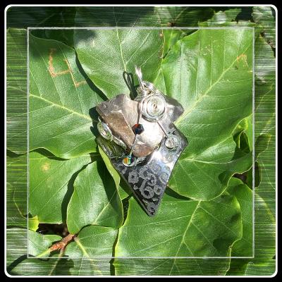 Coeur de silex pendetif bijou ecorepsonsable 3
