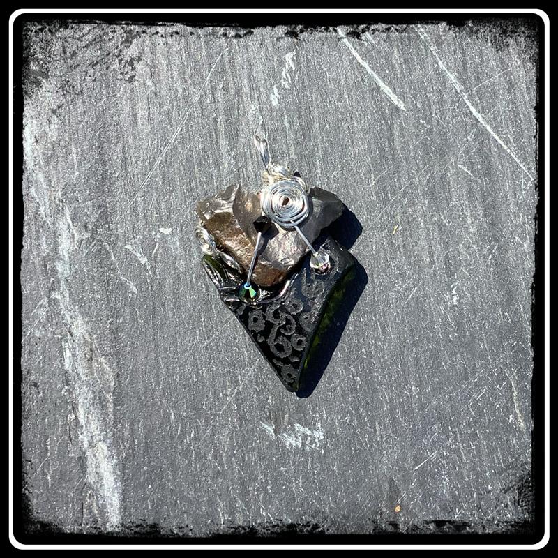 Coeur de silex pendetif bijou ecorepsonsable 5