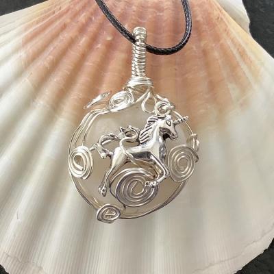 Licorne bijou pierre cap ferret