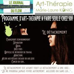 Masque vignette detachement programme video art therapie psychologie 1