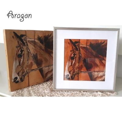 Poster aragon royal artiste peintre marie laure konig artiste peintre oise 60800 60330 60440 60300