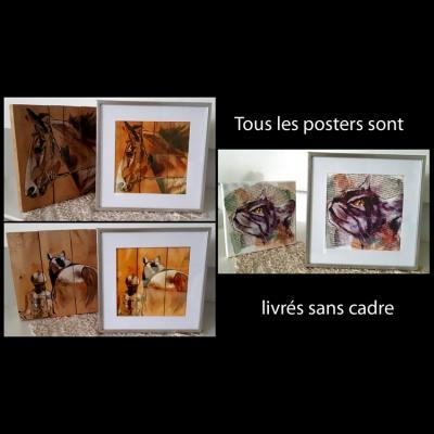 Posters artiste peintre marie laure konig oise 60800 60330 60300 60200 60440