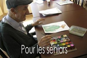 Art-thérapie pour les seniors - Les personnes âgées ont besoin de rayonner