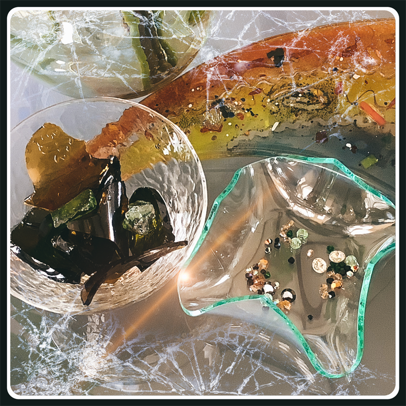 Verre et cristal de swarovski