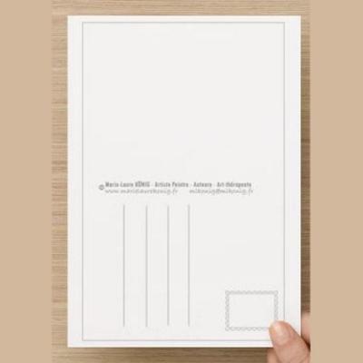 Verso carte postale marie laure konig